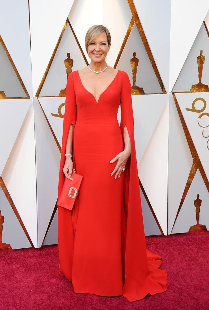 Allison Janney at the 2018 Oscars