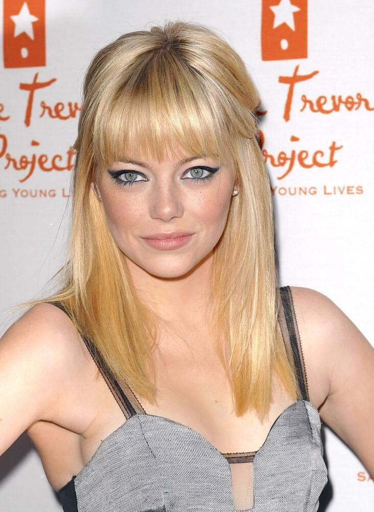 Emma Stone at Trevor LIVE Annual Benefiting for The Trevor Project, The Hollywood Palladium, Los Angeles, CA December 5, 2010