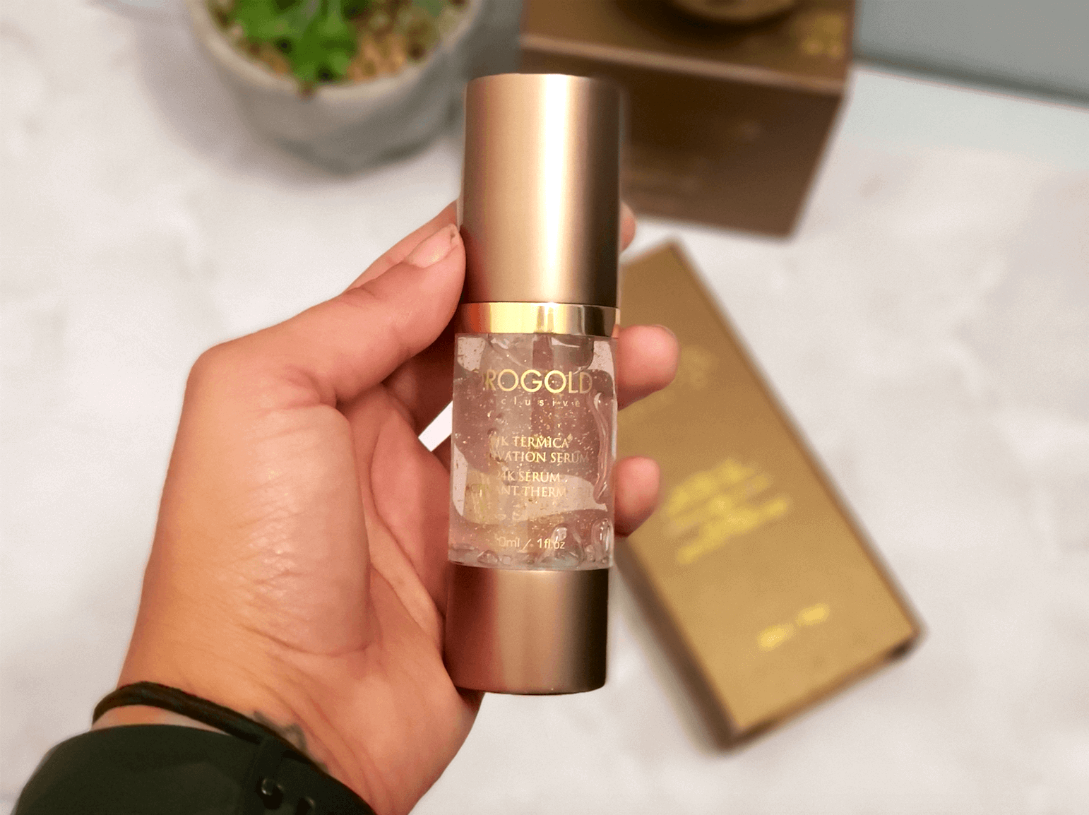 Review of Orogold 24K Tèrmica® Activation Serum