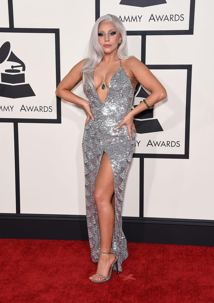 LOS ANGELES - FEB 08: Lady Gaga arrives to the Grammy Awards 2015 on February 8, 2015 in Los Angeles, CA