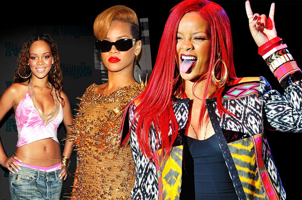 How to Dress like Rihanna 3