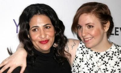 Lena Dunham and Jenni Konner