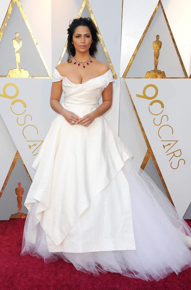 Camila Alves at the 2018 Oscars Night