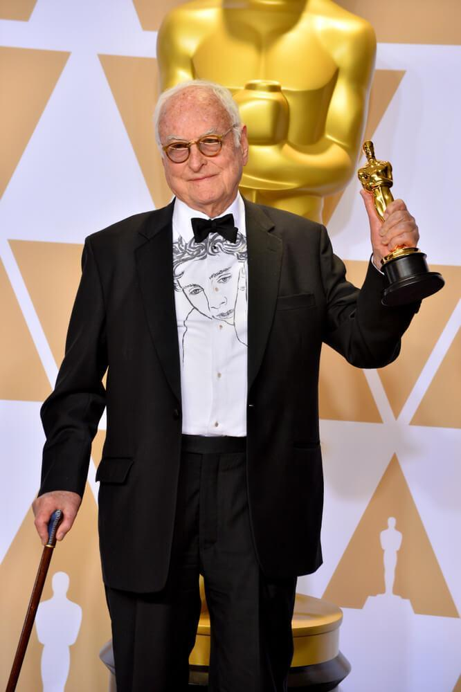 James Ivory at the 2018 Academy Awards