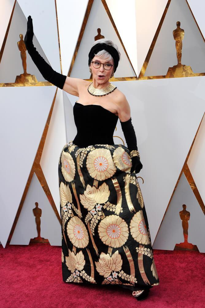 Rita Moreno at the 2018 Academy Awards